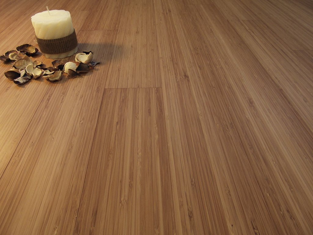 Solid Bamboo Flooring Prefinished Carbonized Vertical Plank How To Install Floating Bamboo Flooring