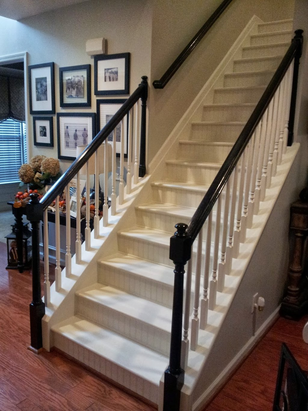 Southern Grace Staircase Remodel Painting Staining Outdoor Wooden Spiral Staircase