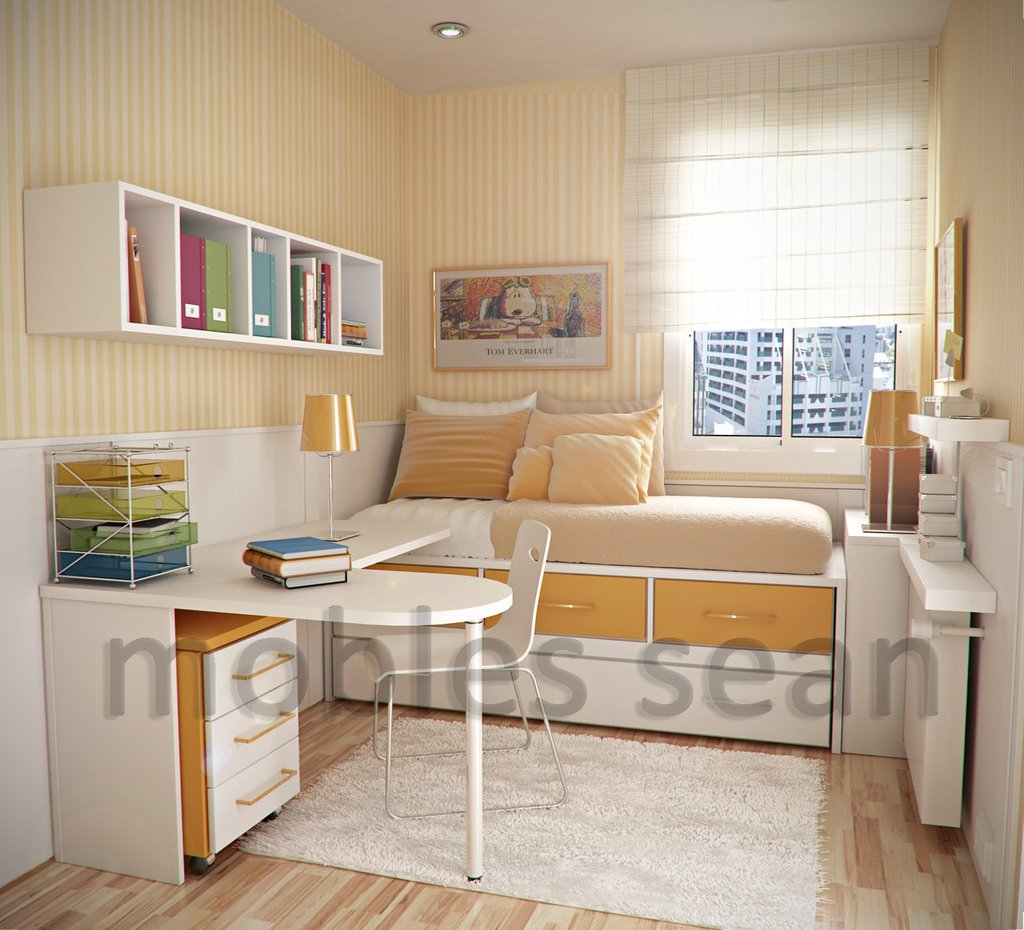 Space Saving Design Small Kid Room Living Room For Small Space