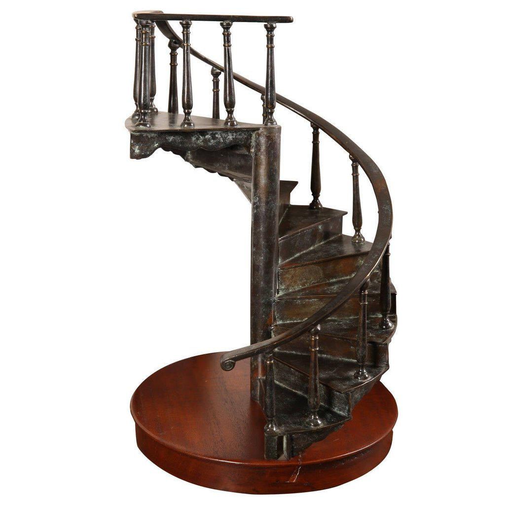 Spiral Staircase Model Outdoor Wooden Spiral Staircase