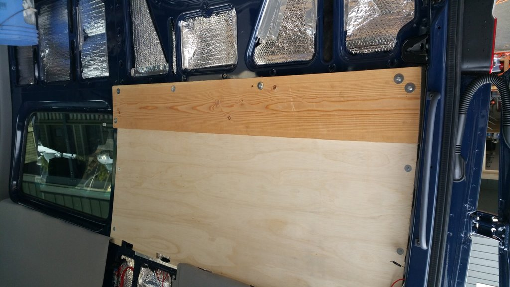 Sprinter Adventure Van Build Bed Platform Point Unknown How To Build A Wood Twin Bed Frame