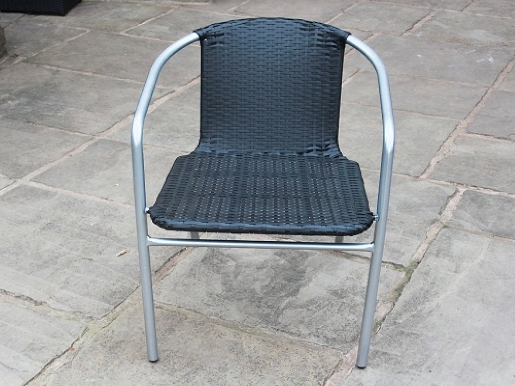 Stackable Garden Chairs White Rattan Dining Chair Black How To Repair Rattan Dining Chairs