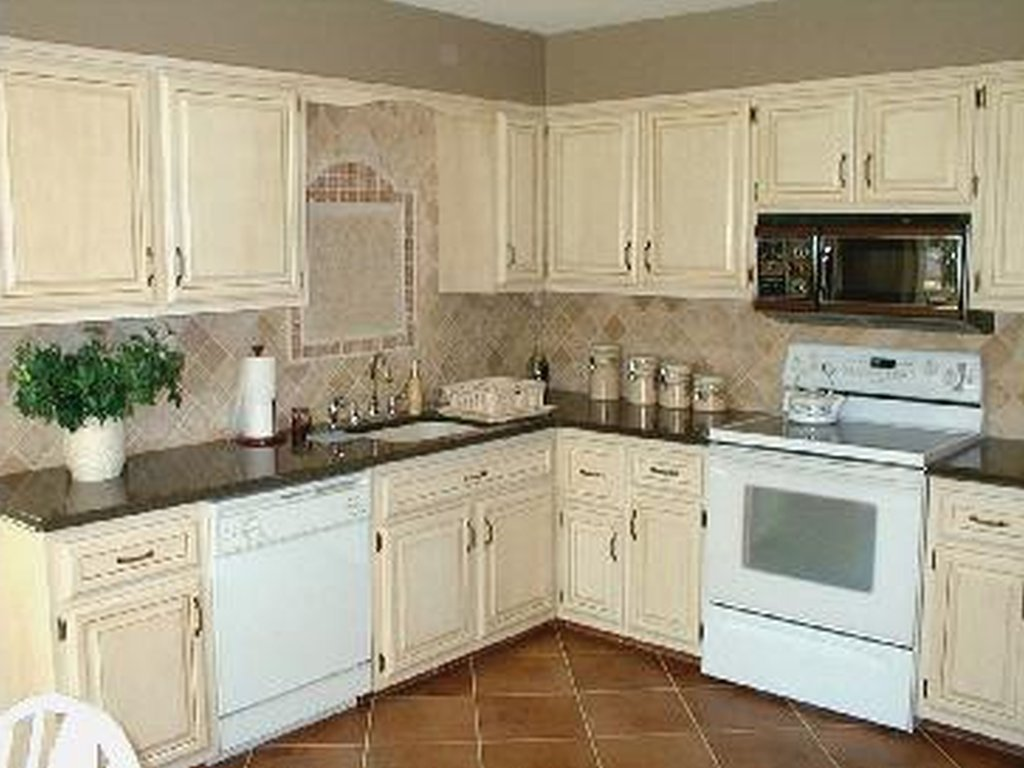 Staining Kitchen Cabinets Ideas