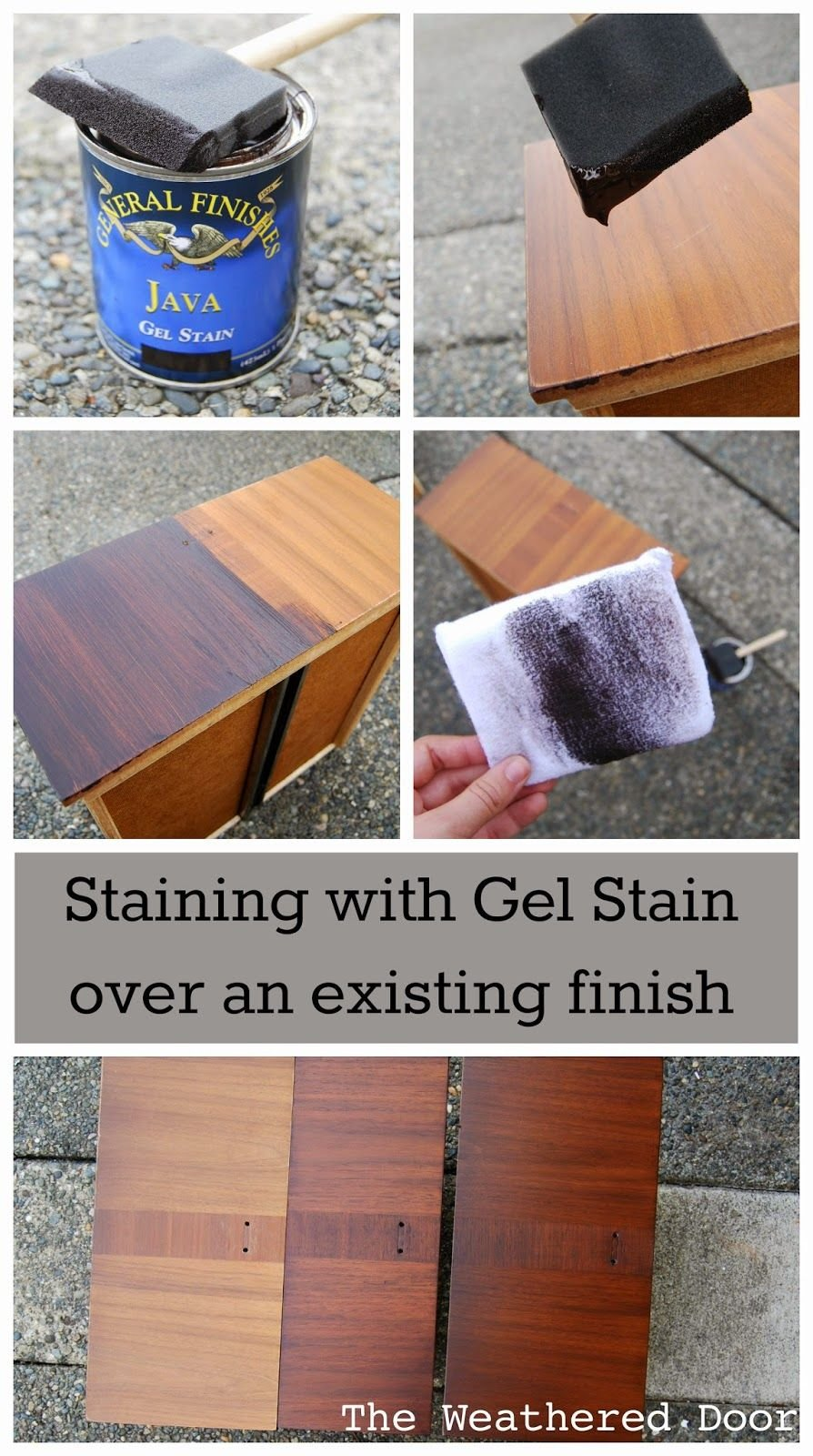 Staining Gel Stain Existing Finish Staining Wood Floors With Dark Color