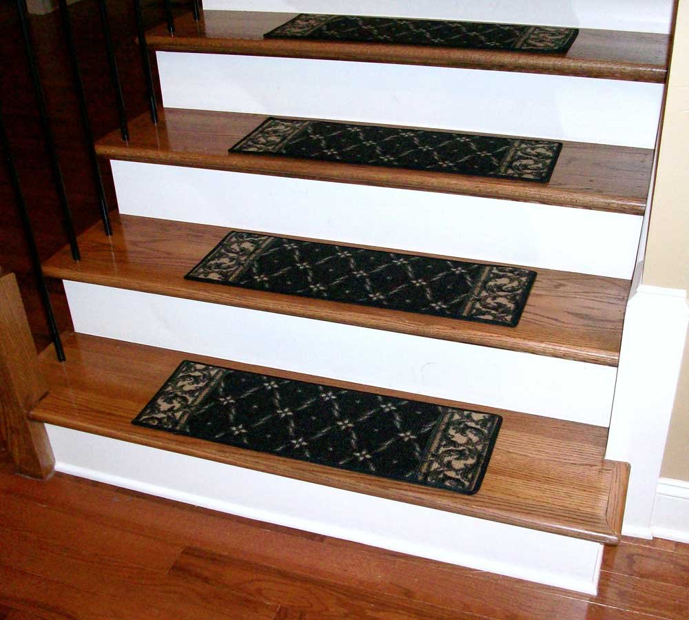 Stair Rubber Stair Tread Mat Benefits Plastic Stair Design Hardwood Stair Treads