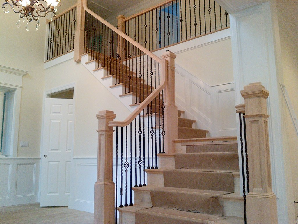 Staircase Kit Custom Home Design Outdoor Wooden Spiral Staircase