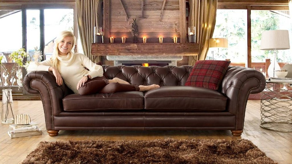 Stamford Leather Fabric Sofa Range Sofology Living Sectional Sofas For Small Spaces Modern