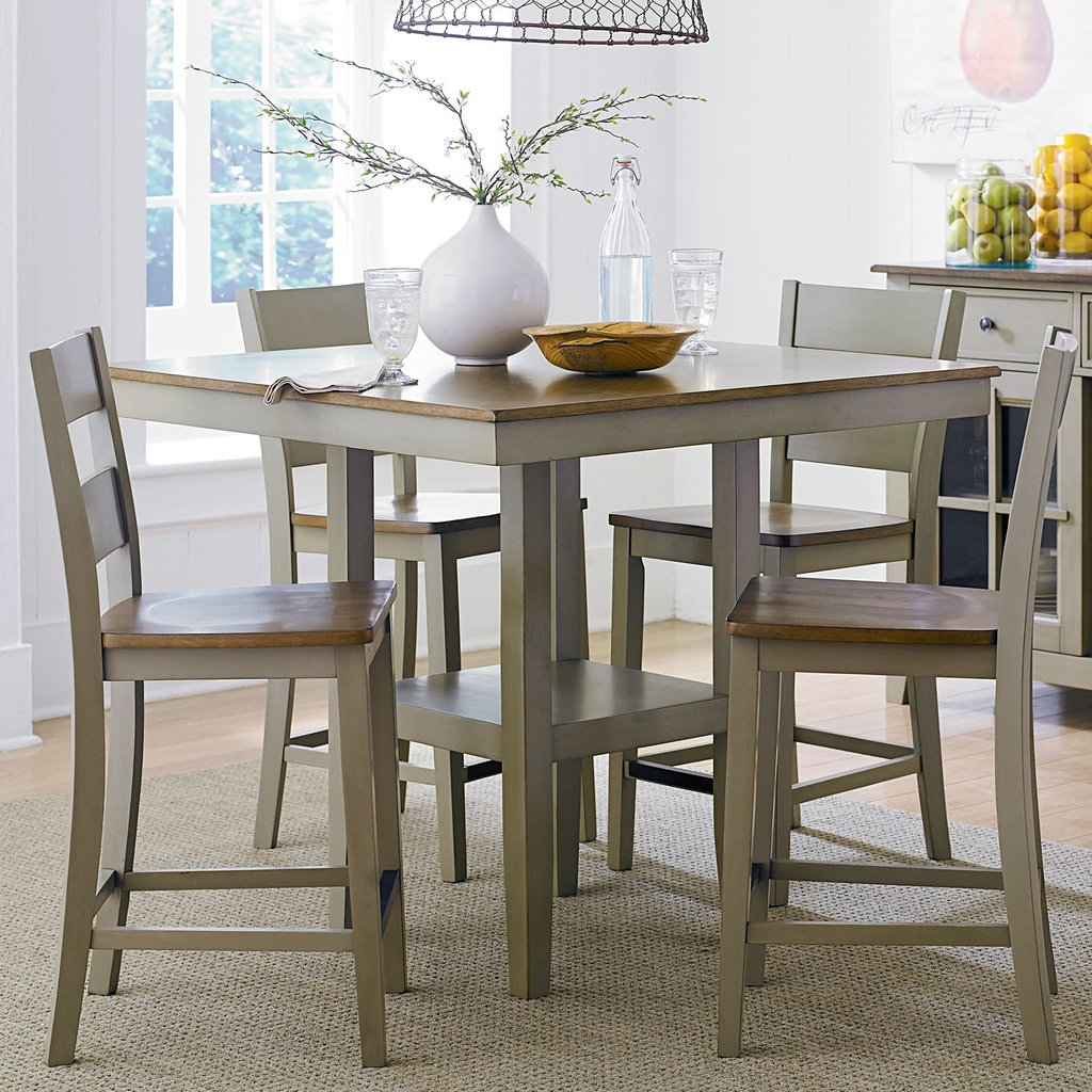 Standard Furniture 5 Piece Counter Height Dining Set Counter Height Kitchen Tables Design