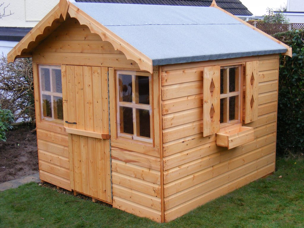 Stationhouse Wooden Playhouse North Wale Shed Kids Outdoor Wooden Playhouse Ideas