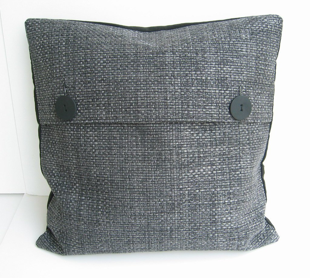 Steel Gray Pillow 20 Quot   Inspired Man Cave Space Best Oversized Sectional Sofas