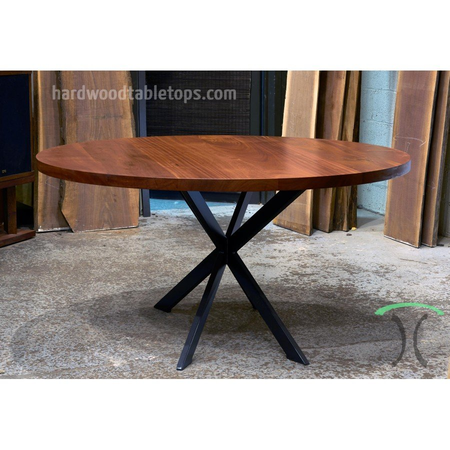 Steel Spider Leg Base Custom Solid Wood Table Top Restaurant Table Tops Plan