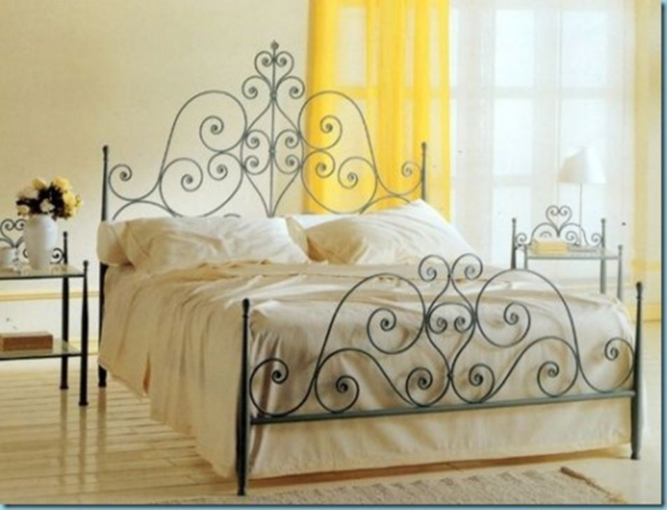 Stylish Wrought Iron Bed King Making An Wrought Iron Headboard