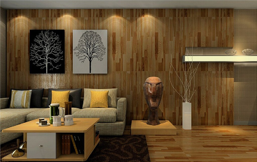 Surprising Living Room Wood Wall Design 17 Home Ideas Using Wood Paneling