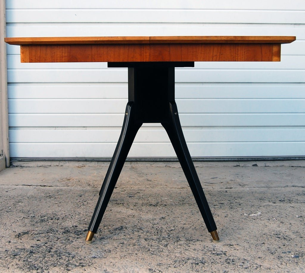 Swedish Mid Century Teak Pedestal Square Dining Table How To Make Square Pedestal Dining Table