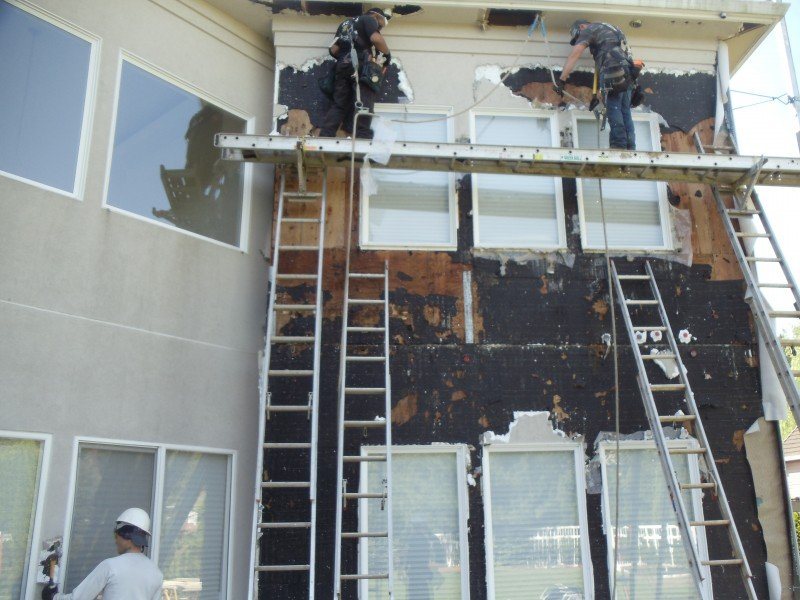 Synthetic Stucco Home Siding Perfect Stucco Application Popular Paint Of Wood Siding Types