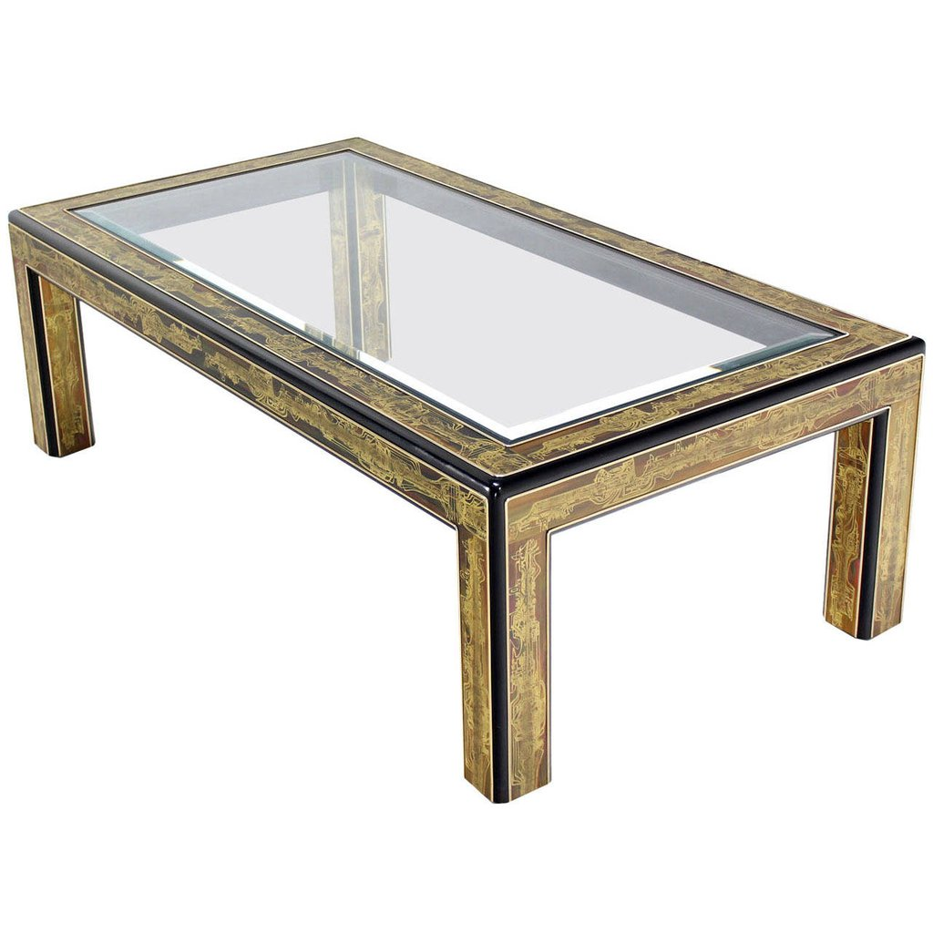 Glass top coffee table unique driftwood pedestal base for Dining table base design