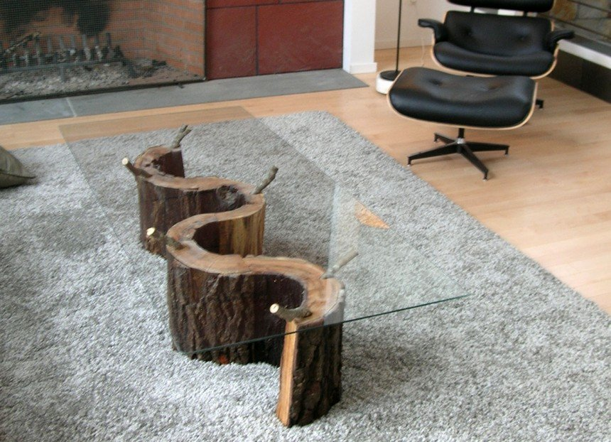 Table Chair Tree Stump Table Provide Coffee Table Making Tree Stump Coffee Table
