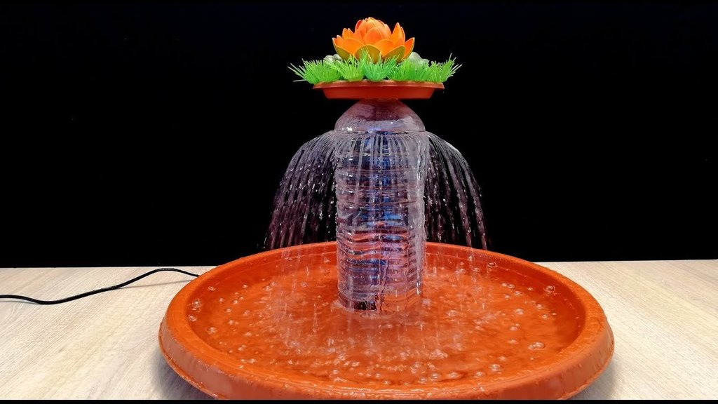 Tabletop Fountain Plastic Bottle How To Build Shaker Cabinet Doors Style