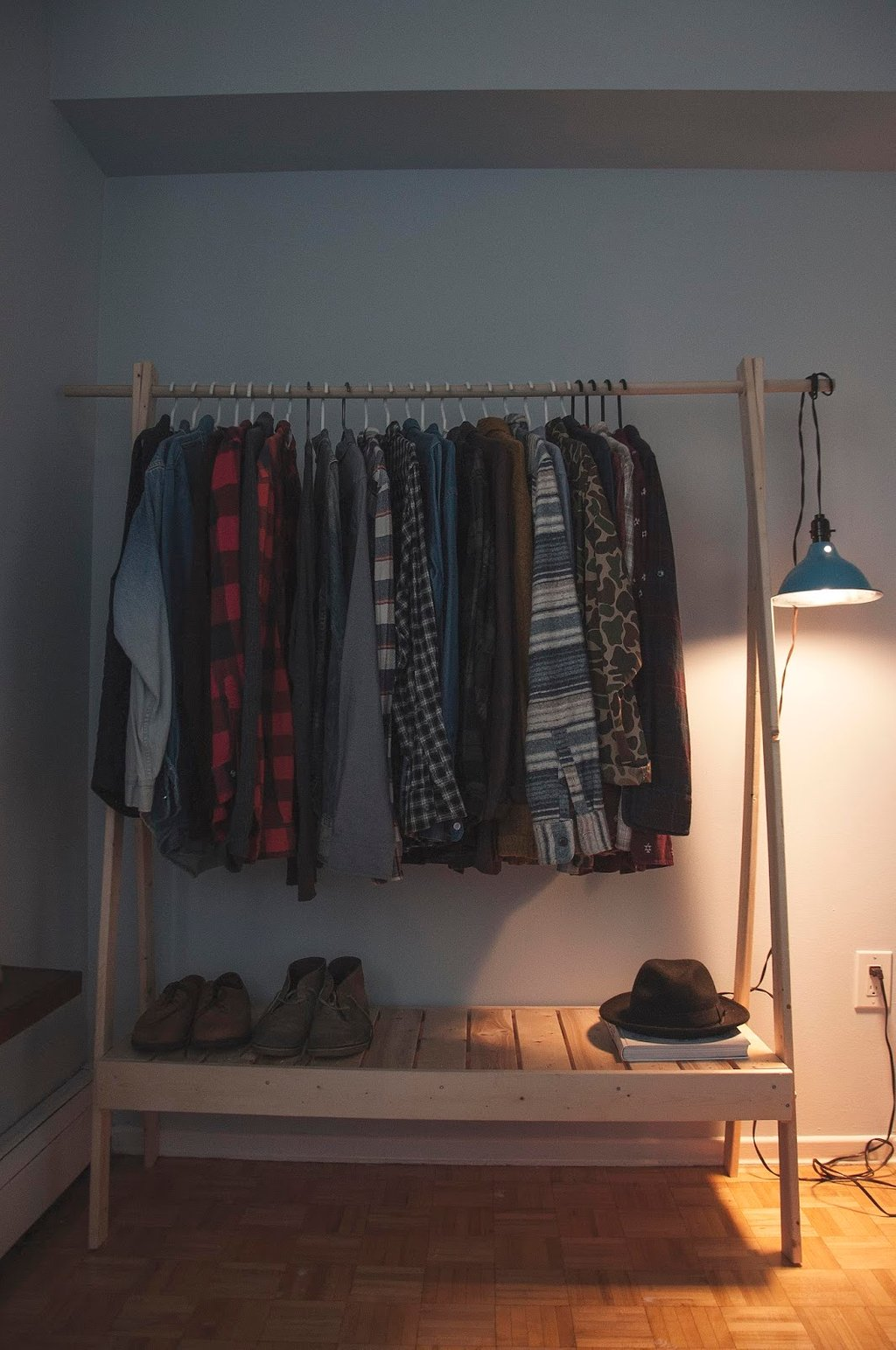 Ten Diy Wooden Clothe Rack Ideas For Wooden Clothes Rack