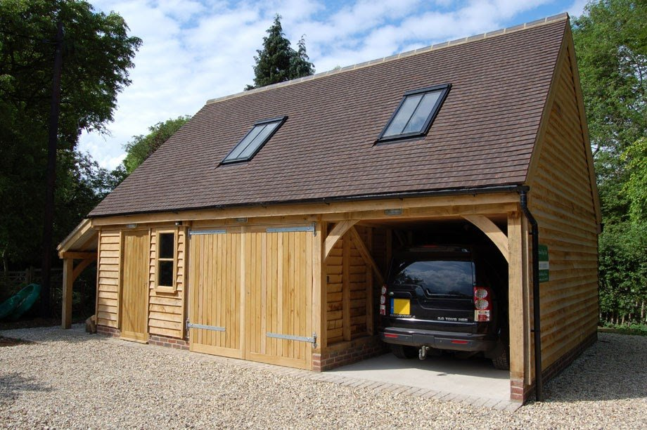Timber Garage Plan Uk Riversshed How To Build A Wood Twin Bed Frame
