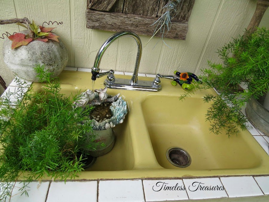 Timeless Treasures Cast Iron Sink Thrifted Cast Iron Kitchen Sinks Color