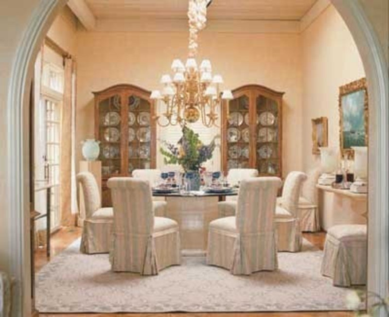 Tlc Home Quot Dining Room Decorating Idea Traditional Extendable Dining Table Ideas
