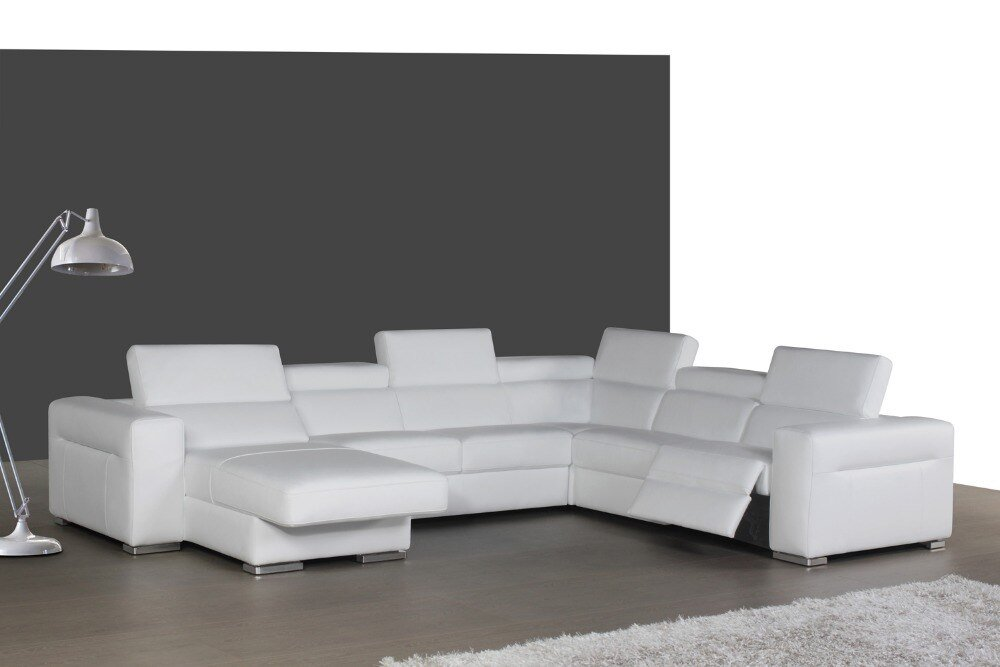 Top Graded Italian Genuine Leather Sofa Sectional Living Deep Sectional Sofas Living Room Furniture