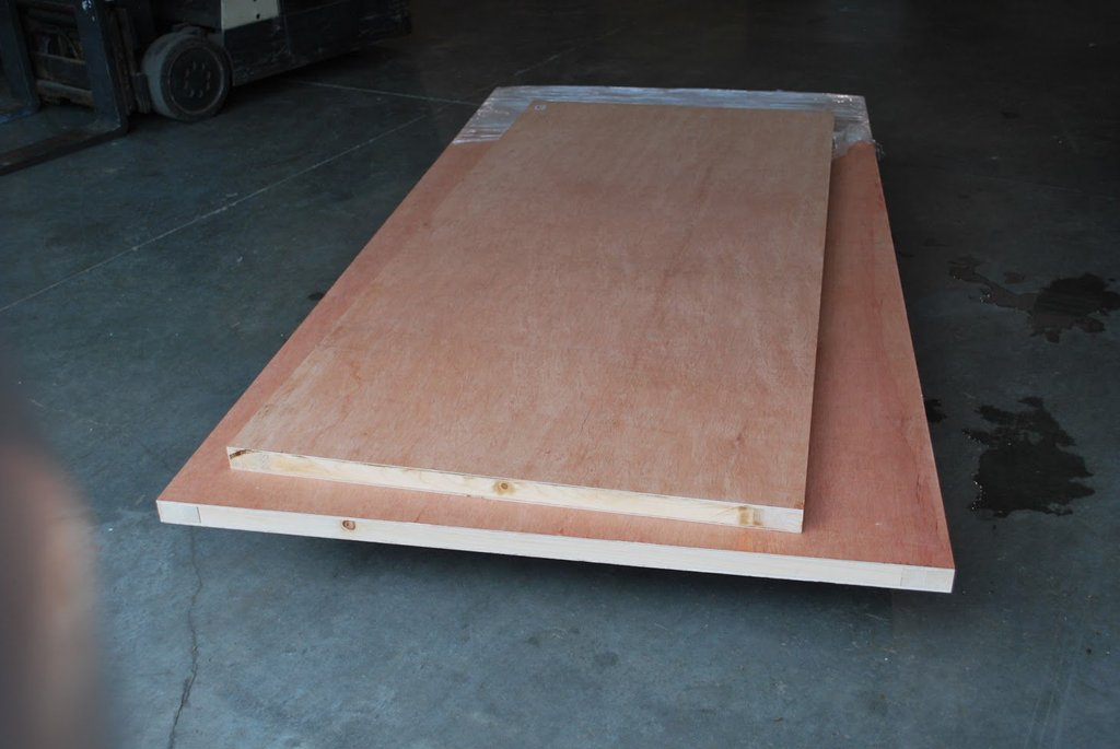 Torsion Box Assembly Table Multi Function Warping How To Build Round Wood Table Tops