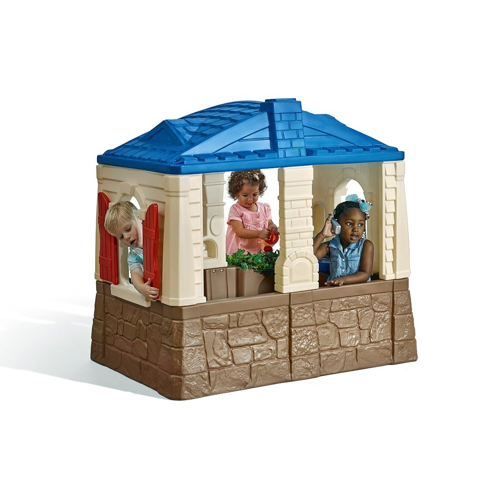 Total Fab Outdoor Playhouse Kitchen Outdoor Wooden Playhouse With Slide