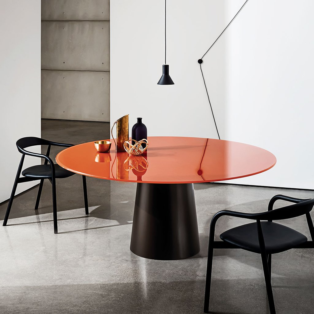 Totem Glass Dining Table Klarity Glass Furniture Extendable Dining Table Ideas