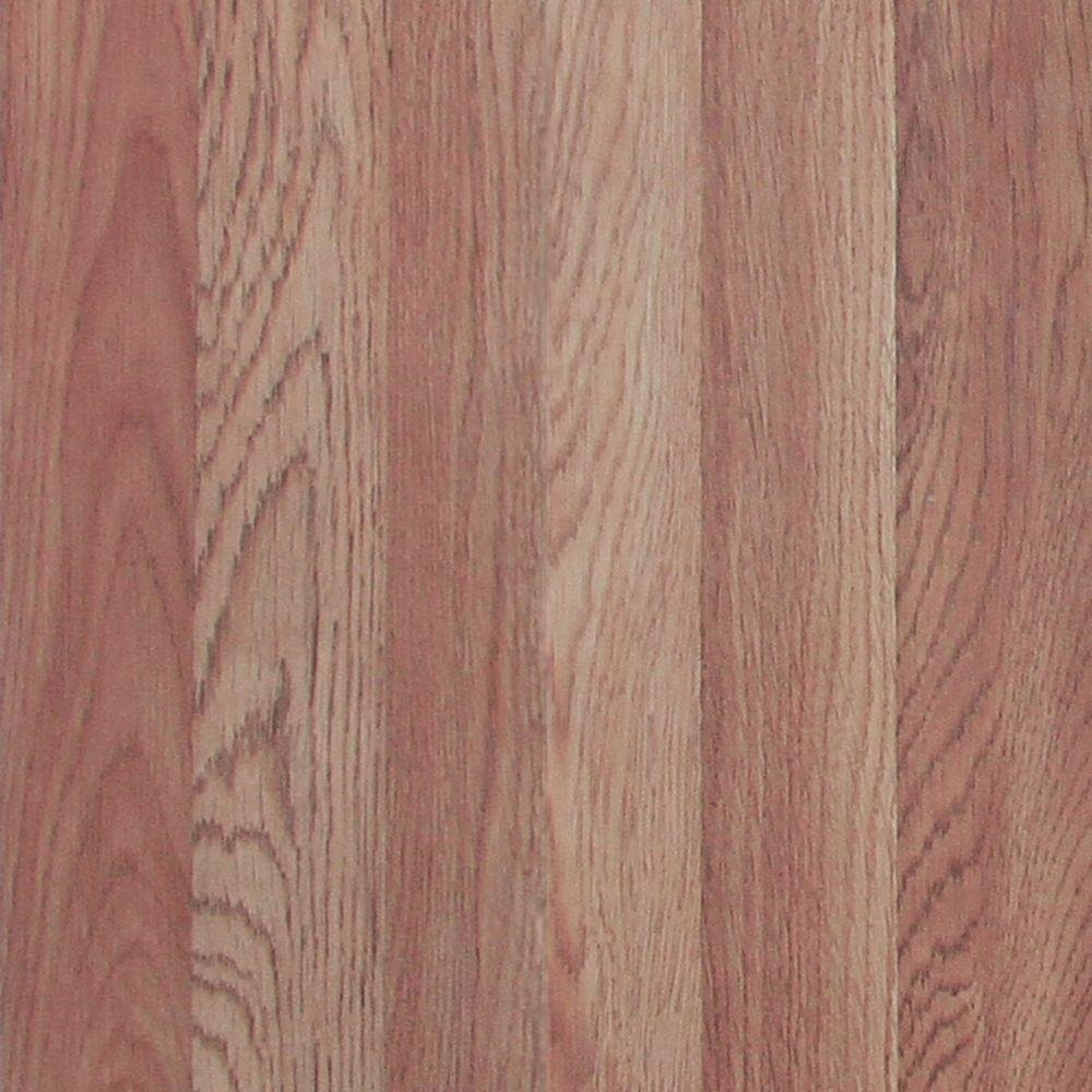 Trafficmaster Glueless Laminate Flooring Benson Oak Large Staining Wood Floors With Dark Color