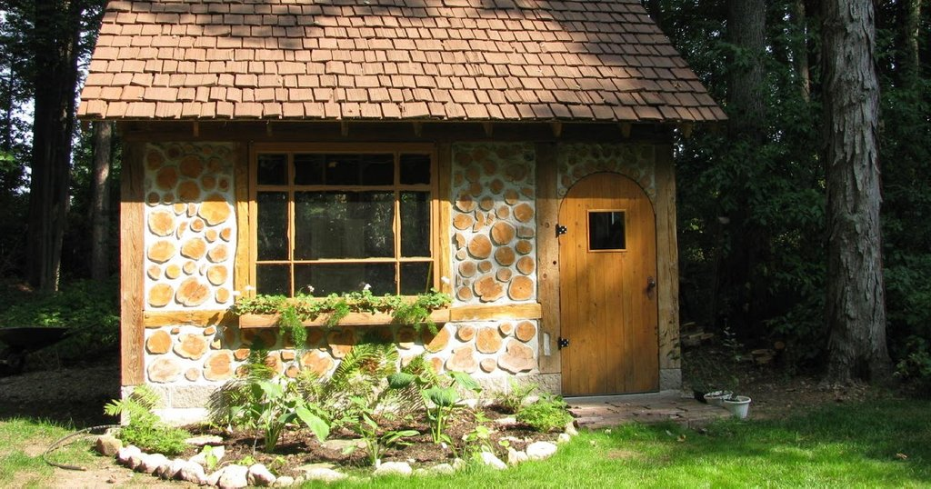 Tree Sheds Shed Roof Cottage Plan Barn Wood Headboard Ideas