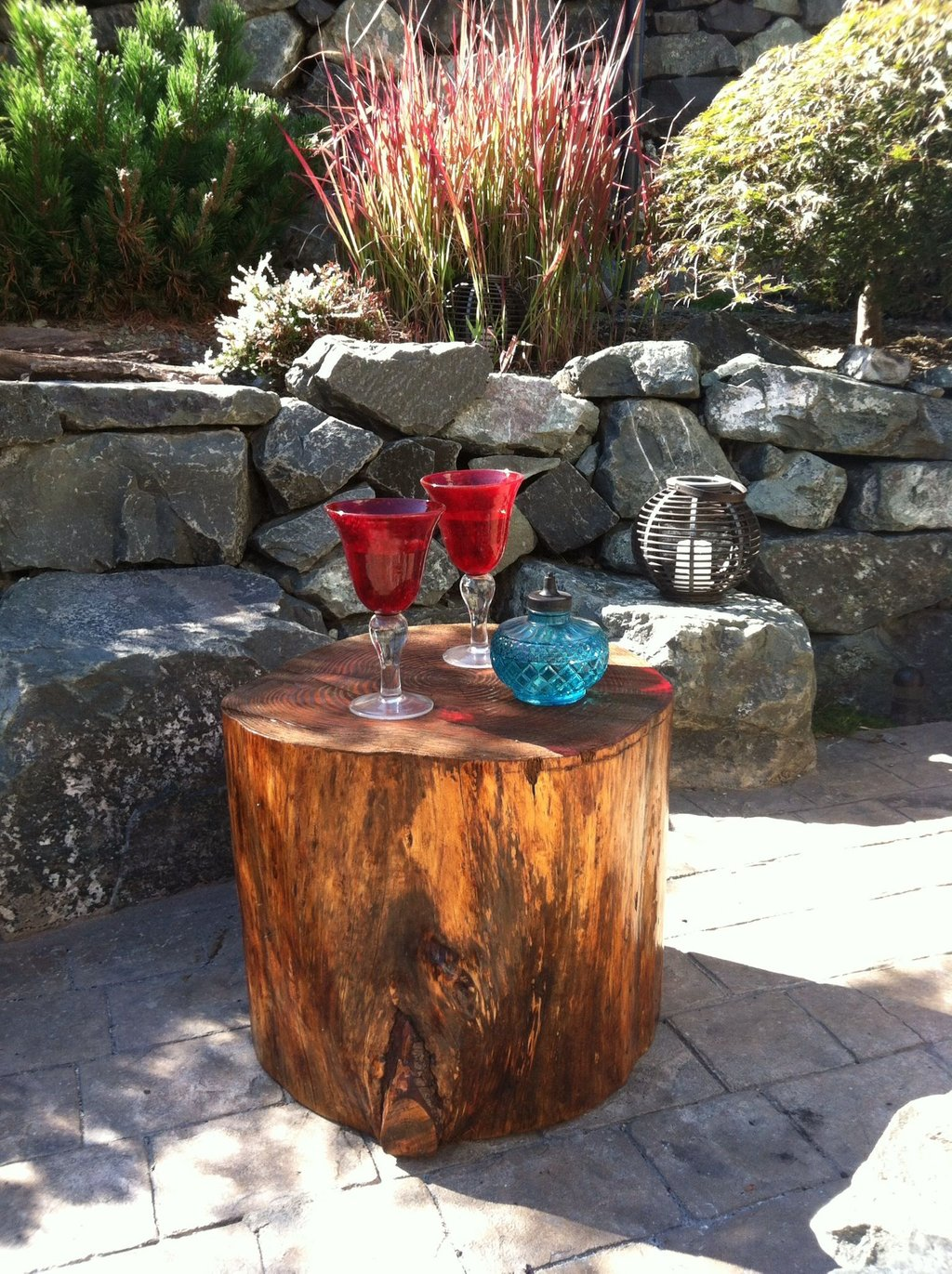 Making Tree Stump Coffee Table Loccie Better Homes