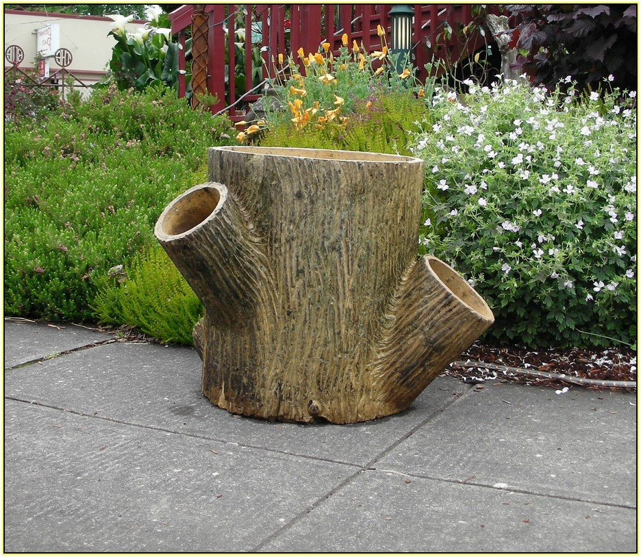 Tree Trunk Planter Home Design Idea Make A Tree Trunk Coffee Table