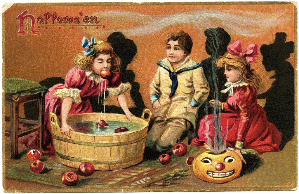 Tuck 39 Halloween Postcard Vintage Graphic Bob How To Build A Wooden Bathtub Stool