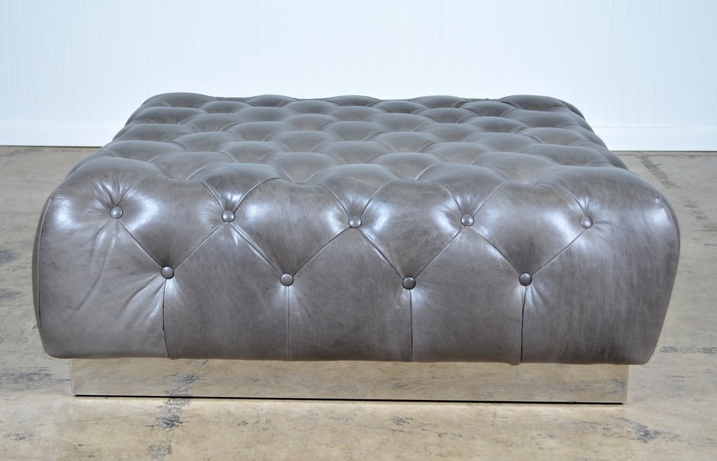 Tufted Bench Coffee Table 4 Style Tufted Coffee How To Make Round Ottoman Coffee Table
