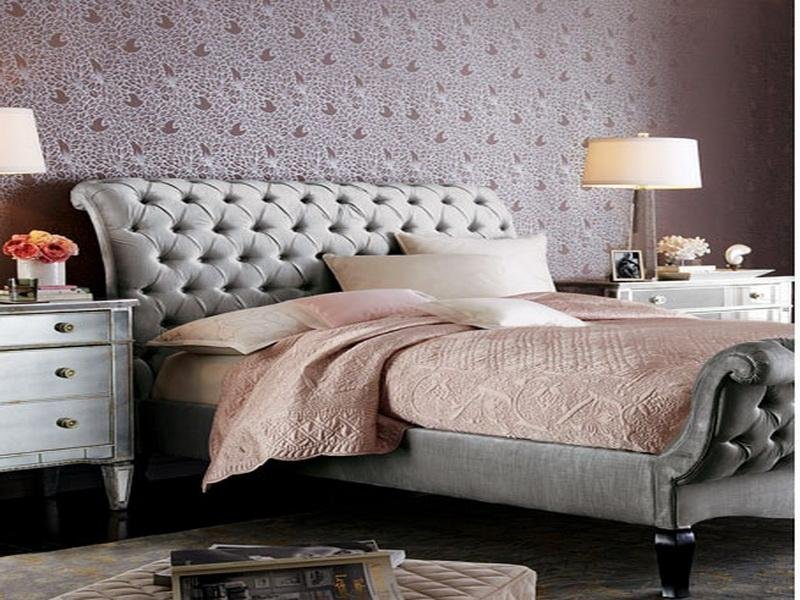 Tufted Upholstered Headboard Wall Art Stroovi Guideline To DIY Tufted Headboard