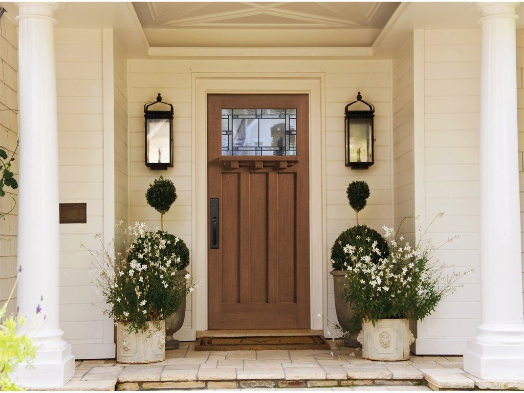 Tulsa Exterior Door Mill Creek Lumber Solid Wood Exterior Doors