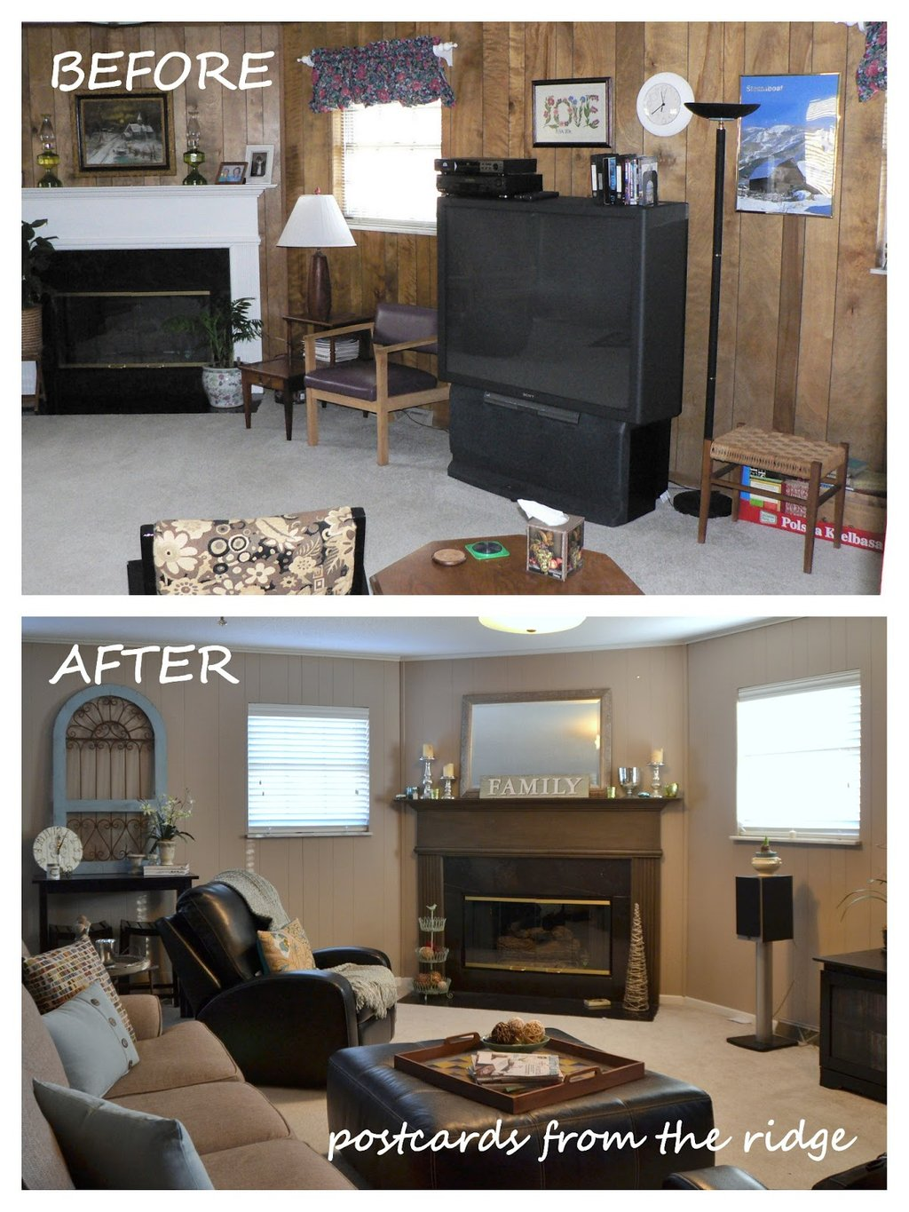 Tutorial Paint Paneling Pro Postcard Painting Wood Paneling Without Sanding