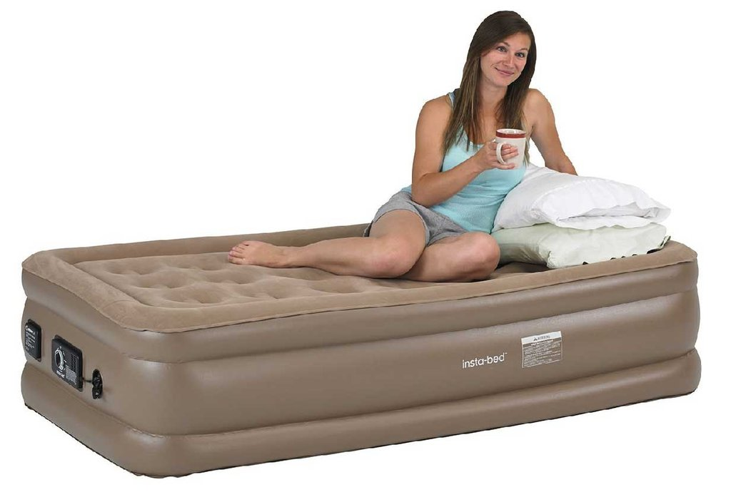 Twin Air Mattress Comfortable Perfect Unexpected Pull Out Sofa Bed With Storage