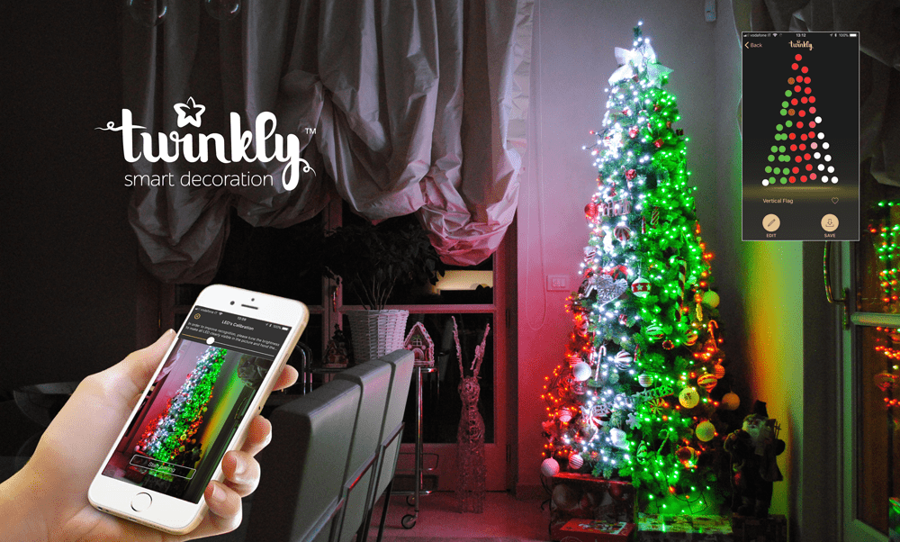 Twinkly App Controlled Christma Light Buy Today Christmas Light Ideas, Gorgeous Christmas Lighting Collections