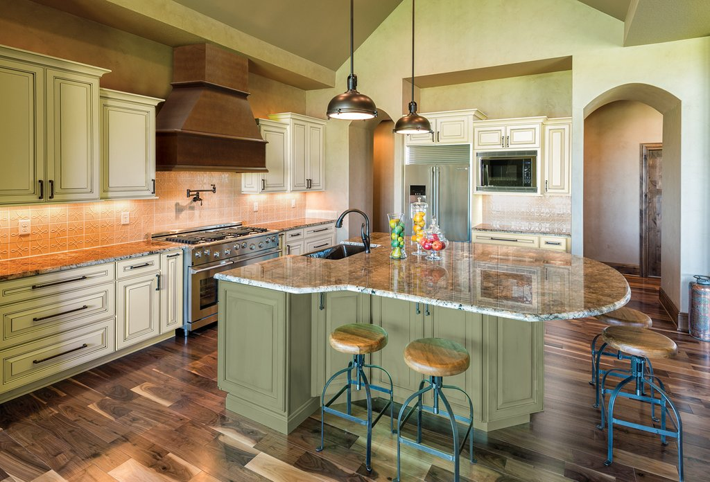 Upgrading Green Kitchen Cabinet Kitchen Interior What Colors Look Best With Green Kitchen Walls?