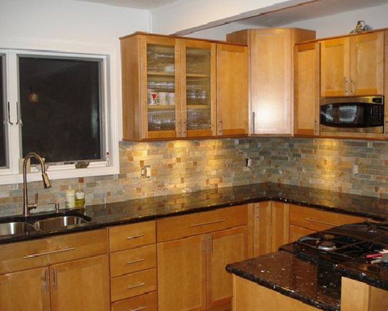 Venetian Gold Granite Oak Cabinets Espresso Cabinet Popular Granite Countertop Colors