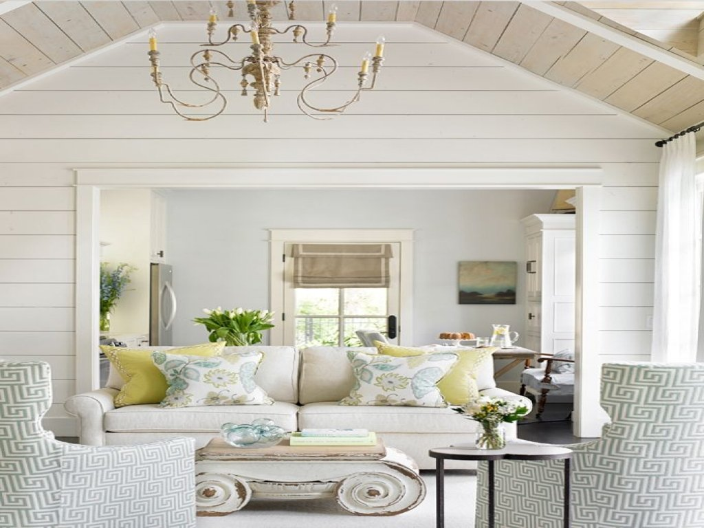 Vintage House Decorating Ideas Shiplap Interior Wall Wood Paneling Makeover Remodel