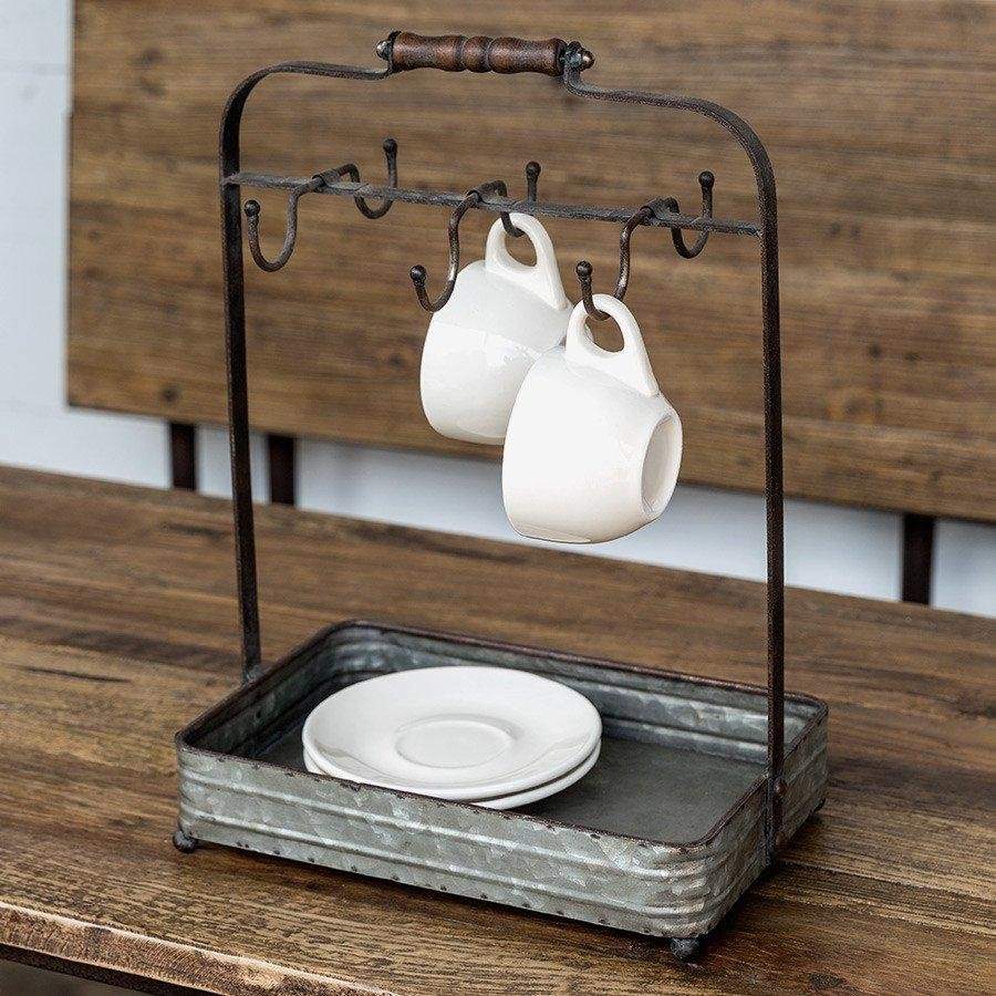 Vintage Inspired Kitchen Counter Caddy Farmhouse Fresh Home Ideas Kitchen Counter Stools