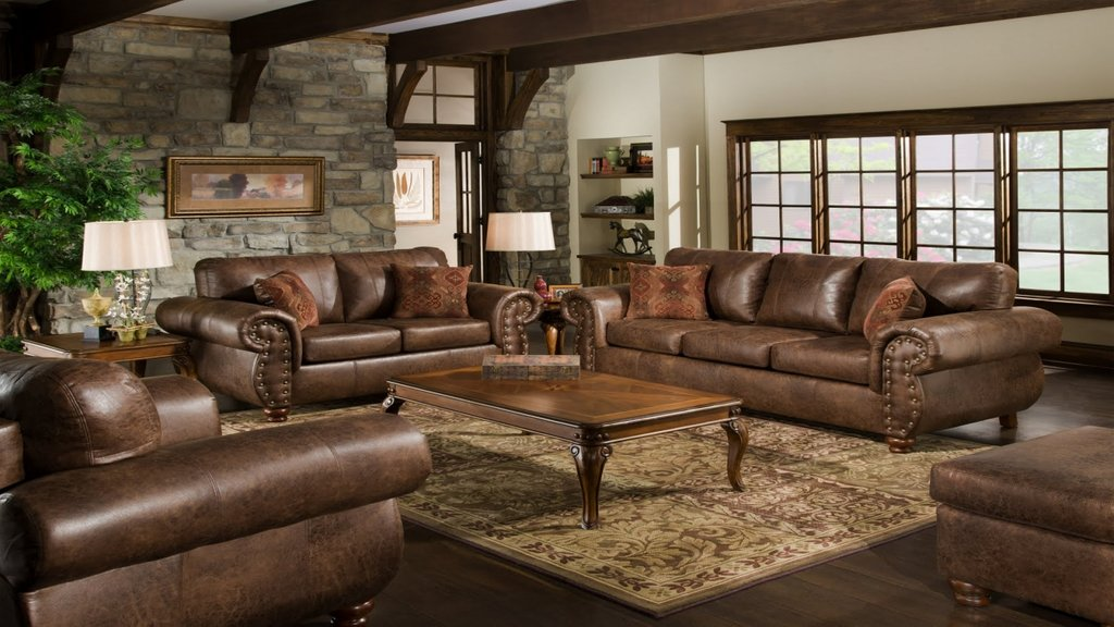 Wall Color Design Bedrooms Decorating Brown Leather Decorating Burgundy Leather Sofa