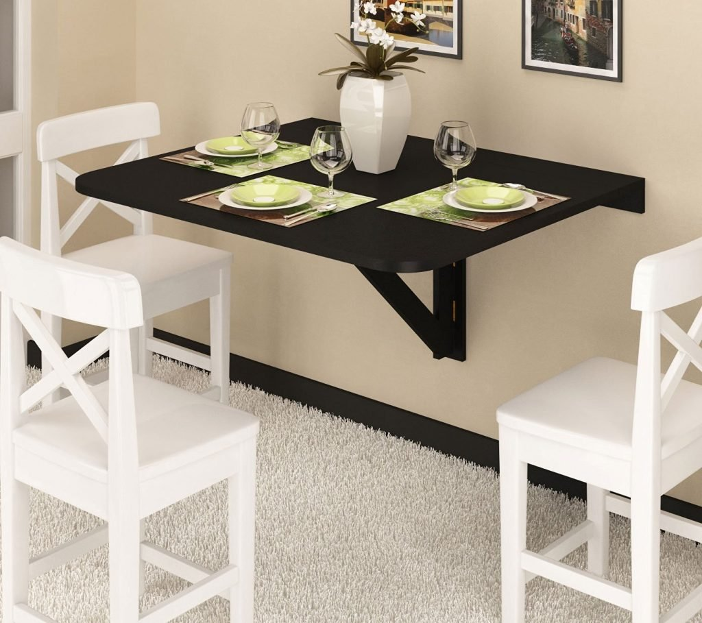 Wall Mounted Drop Dining Table Floor Door Best Foldable Dining Table