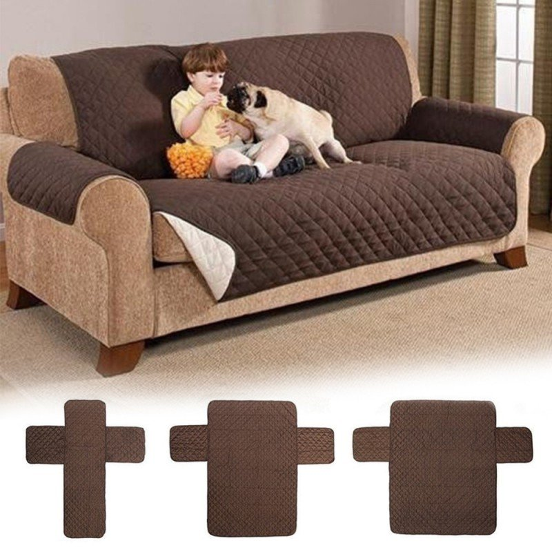 Waterproof Quilted Sofa Cover Dog Pet Kid Anti Sofa Protector Home Ideas