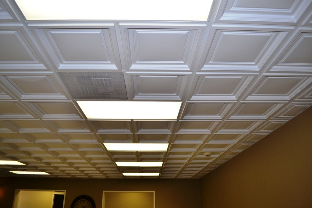 Westminster Coffered Ceiling Tile Intersource Decorative Copper Ceiling Tiles Tips