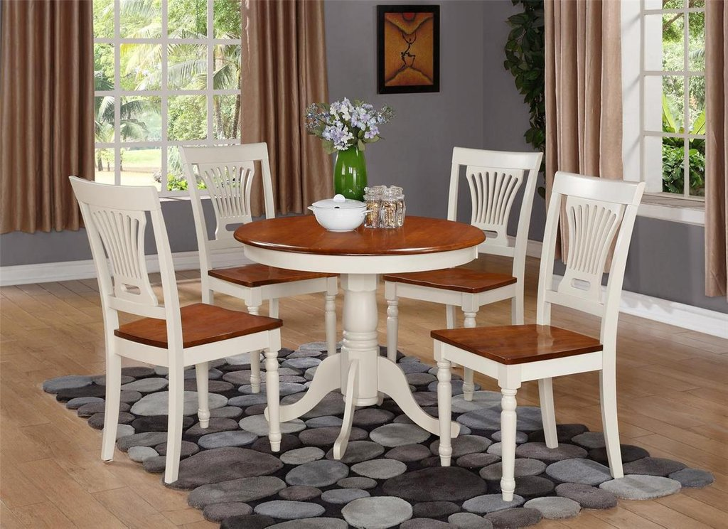 White Cherry Kitchen Table White Cherry Wood Double Pedestal Dining Table Antique